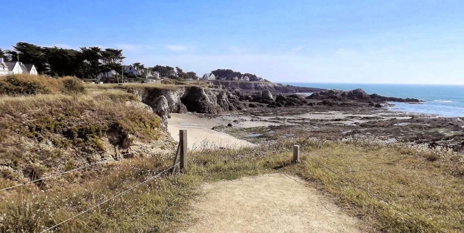 Sentier pédestre Batz sur Mer